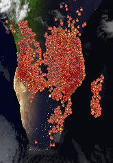Fires in the Africa