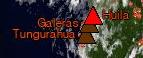 ausbrechende vulkane